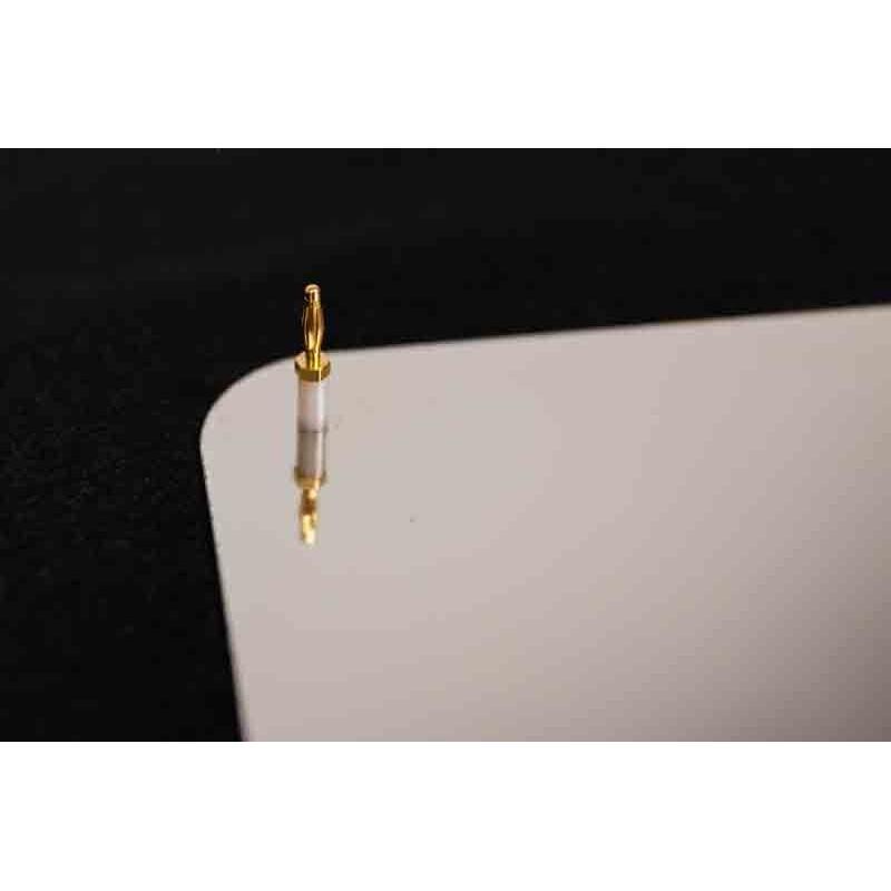 Kit connexion pour plaque inox