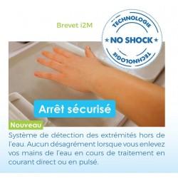 """Idrostar NT : Technologie """"NO SHOCK"""" pour des séances de traitement en toute sérénité"""