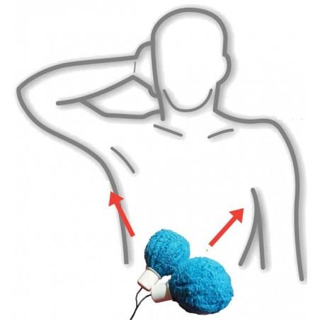 Kit électrodes axillaires AXILLA®