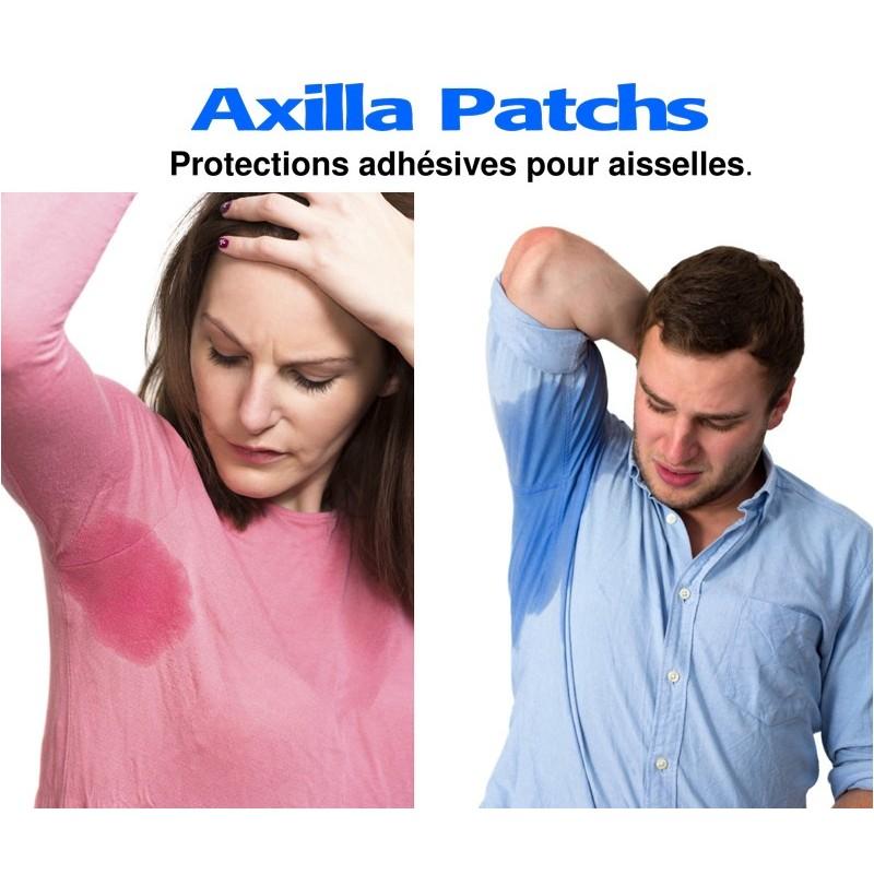 Axilla Patchs : protections adhésives pour les aisselles