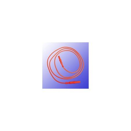Cordon ionophorèse rouge