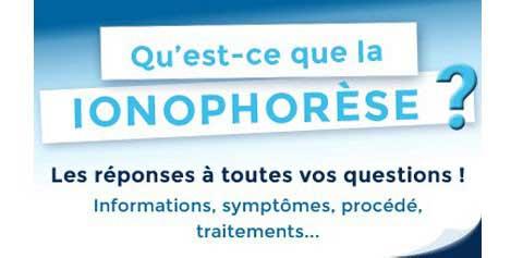 Informations sur la ionophorèse : symptômes, traitements,...